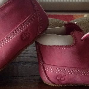 Timberland Shoes - 🌺NWOT Pink Infant Timberland Booties🌺